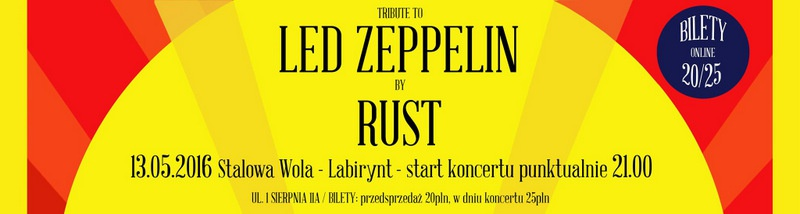 """Tribute to Led Zeppelin by Rust"""