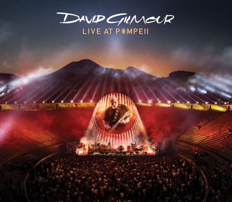 "David Gilmour  ""Live In Pompeii"""