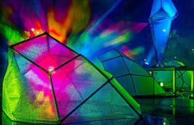 Retrospective na festiwalu światła