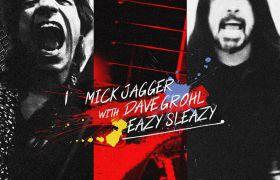 """Mick Jagger z solowym utworem """"Eazy Sleazy"""". Gościnnie Dave Grohl!"""