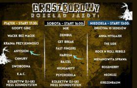 AnVision i Harissa na Grasz Bór Festiwal 2021.