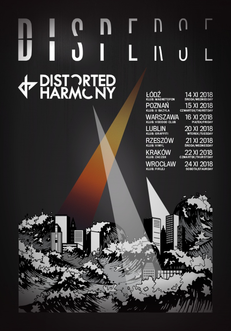 Disperse and Distorted Harmony – Polish tour