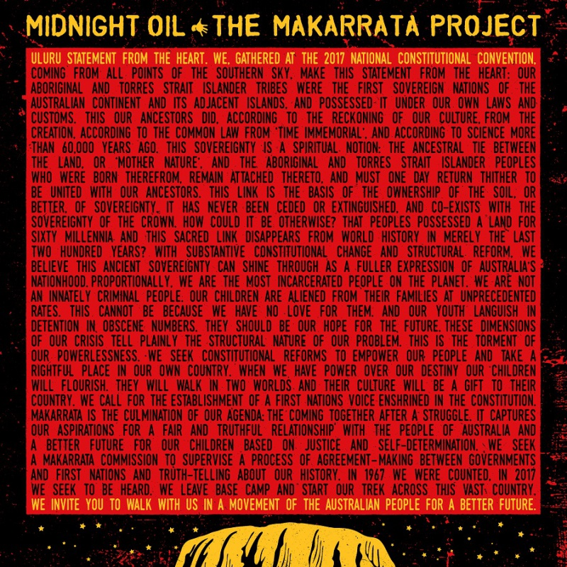 "MIDNIGHT OIL  ""THE MAKARRATA PROJECT"""