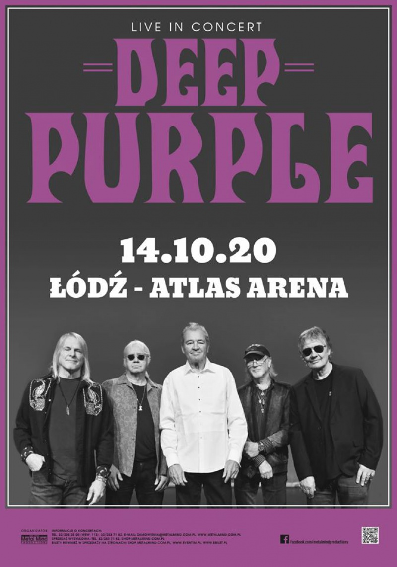 Deep Purple - Atlas Arena Łódź 2020