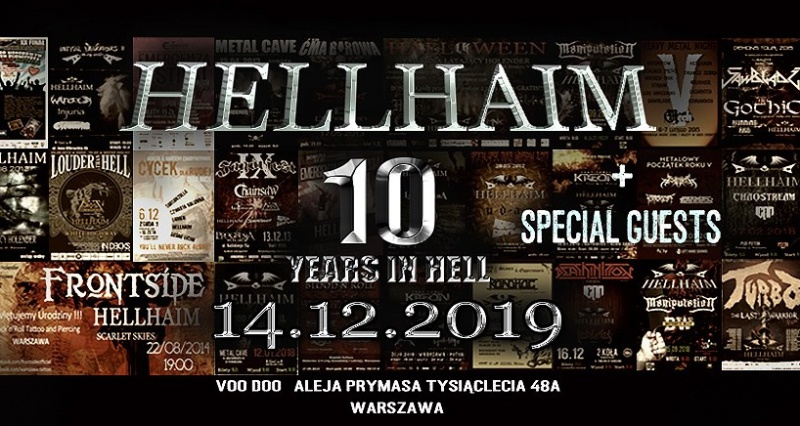 10 Years in HELL: HELLHAIM i goście